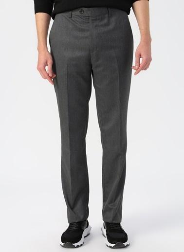 Cotton Bar Klasik Pantolon Antrasit